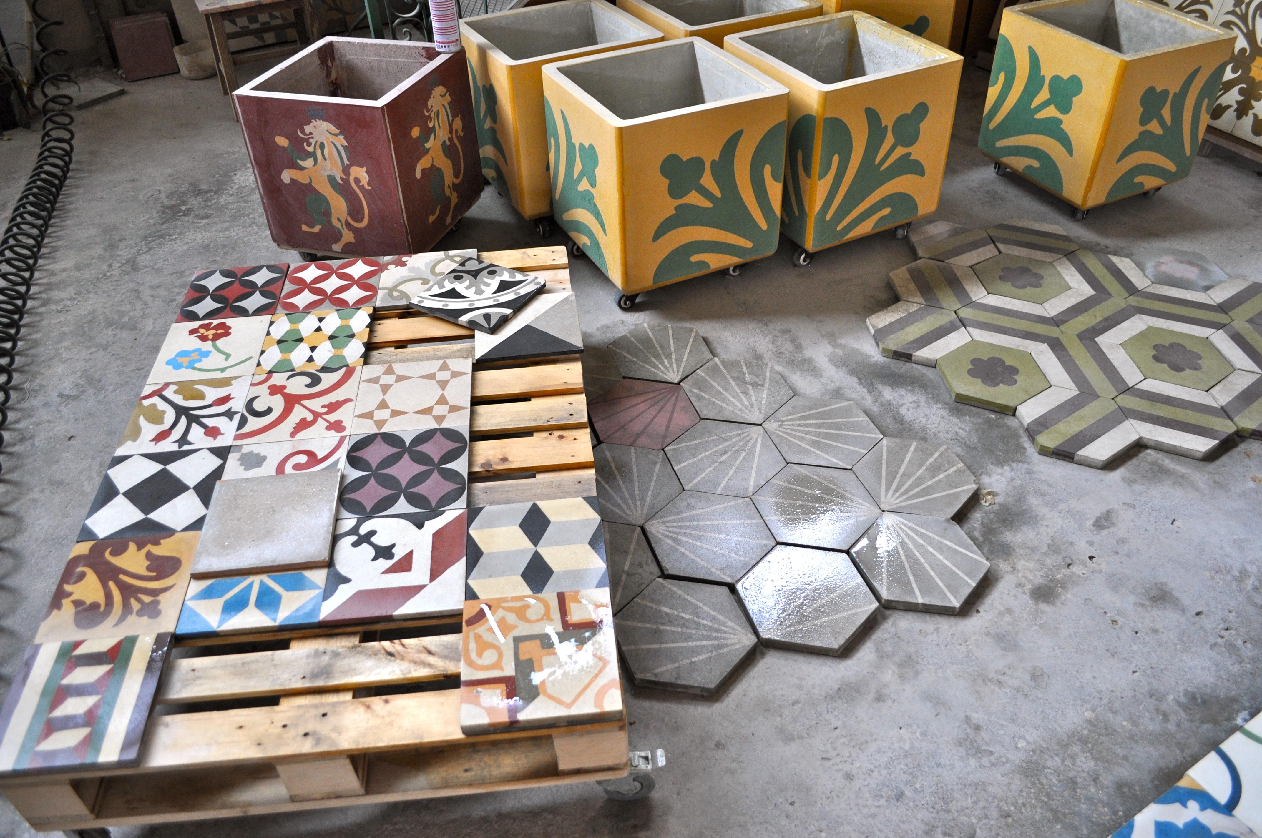 handmade ceramic tiles | Bambi\'s Soapbox