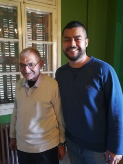Abu Ali and Anthony, the grandson of the former Palmyra manager